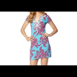Lilly Pulitzer Brewster Dress Searulean Blue